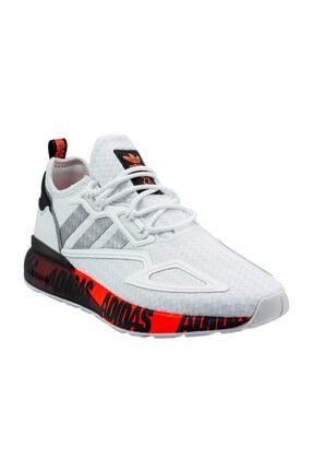 adidas Erkek Beyaz Bağcıklı Yürüyüş Ayakkabısı 0