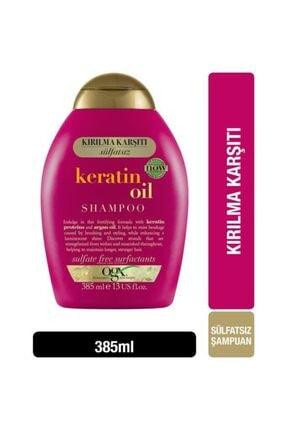 OGX Kırılma Karşıtı Keratin Oil Sülfatsız Şampuan 385 ml 0