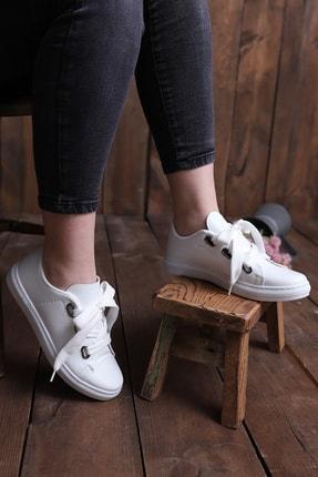 pasyone Kadın  Beyaz  Casual Ayakkabı 1