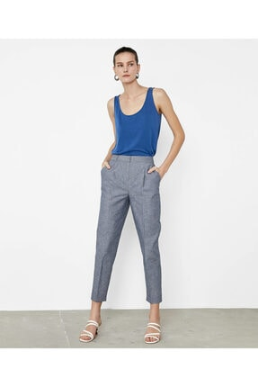İpekyol Çizgili Pantolon 4