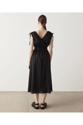 İpekyol Bel Vurgulu Poplin Elbise 4