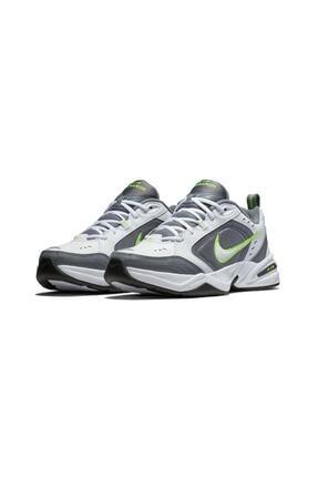 Nike Erkek Beyaz Gri Air Monarch Koşu Ayakkabısı Iv 415445-100 (1 NUMARA BÜYÜK ALINIZ) 0