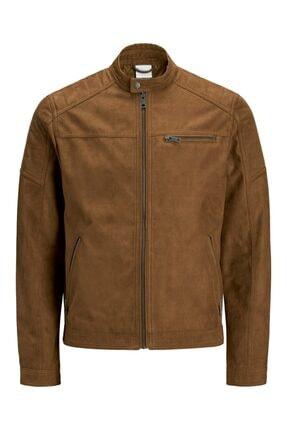تصویر از 12147218 Erkek Jjerocky Jacket Noos Pıu Suni Deri Ceket