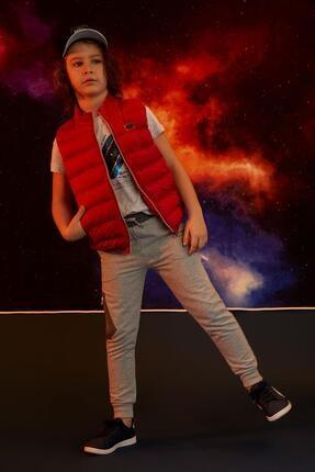 Defacto Erkek Çocuk Kırmızı Cep Detaylı Jogger Eşofman Altı 0