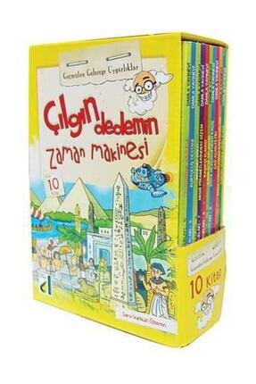 Damla Yayınevi Çılgın Dedemin Zaman Makinesi Uygarlıklar 10 Kitap Takım 1