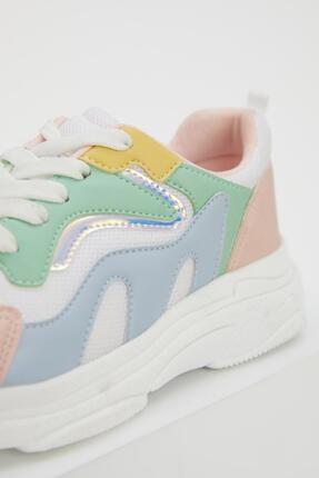 Defacto Kız Çocuk Bağcıklı Spor Ayakkabı 4
