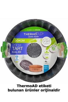 ThermoAD Granit Döküm Tart Kalıbı Turta Kek Kalıbı 26 Cm 2