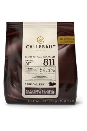 Callebaut Bitter Damla Çikolata 811 400 gr 0