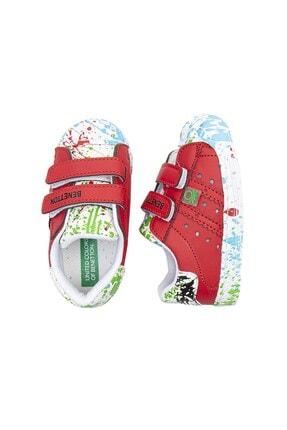 Benetton BN-1017 Kırmızı Çocuk Spor Ayakkabı 4