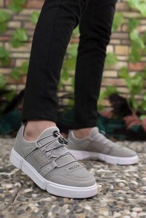 Riccon Erkek Buz Beyaz  Sneaker 00122023 1
