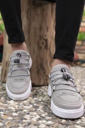 Riccon Erkek Buz Beyaz  Sneaker 00122023 3
