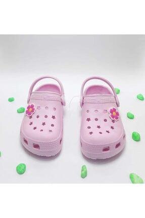 Calx Çocuk Pudra Sandalet Terlik 1