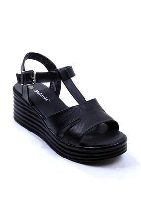 Polaris 315698.Z Siyah Kadın Sandalet 100508351 1