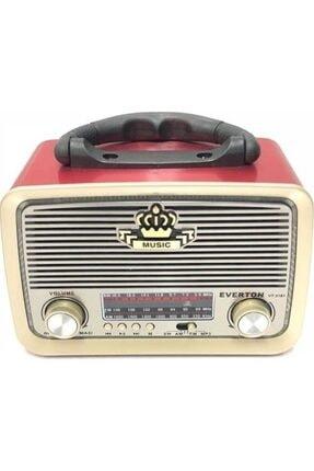 Nostaljik Görünümlü Bluetoothlu Mp3 Çalar Radyo Müzik Kutusu rt301-1t