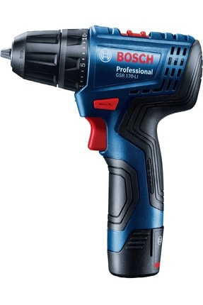 Bosch Professional GSR 120-LI Akülü Delme/Vidalama 12 Volt Li-ion 2 adet 2.0 Ah Akü Plastik Çanta 2