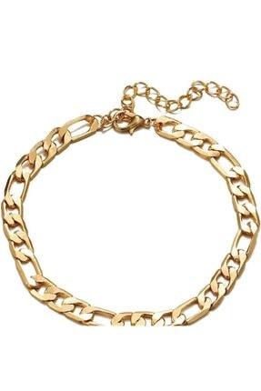 Mammamia Figaro Zincir Çelik Gold Bileklik 1