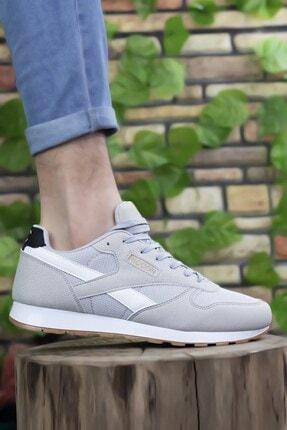 Riccon Gri Beyaz Unisex Sneaker 0012853 1