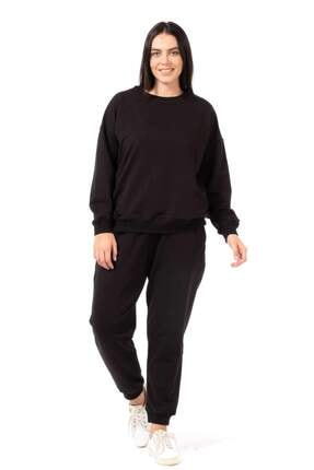 Picture of Bisiklet Yaka Basic Sweatshirt