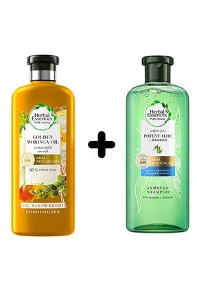 Herbal Saç K. Altın Moringa+herbal Bambu Şampuan MEPAGROSS-HRBL-MRNGA-BMB