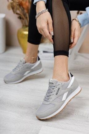 Riccon Gri Beyaz Unisex Sneaker 0012853 0