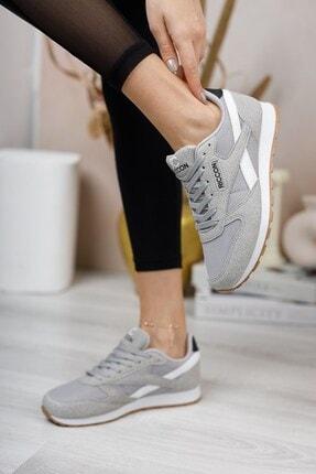 Riccon Gri Beyaz Unisex Sneaker 0012853 4