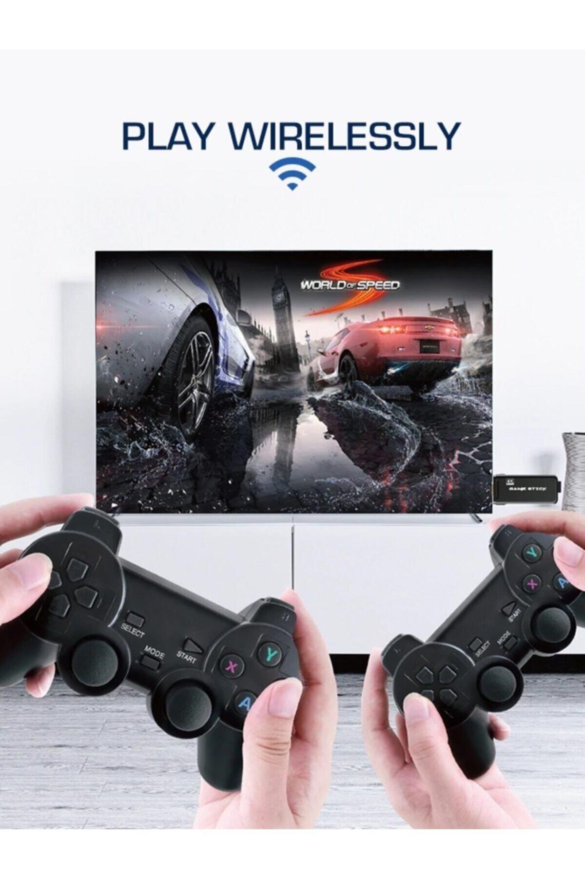 Retro Atari Kablosuz Oyun Konsolu Hd 3000+ Oyun