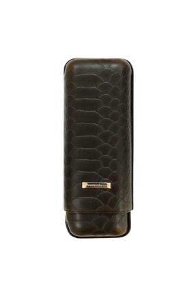 Deri Puro Kılıfı Grand Churchill Kahve Croco 2li (64 Ring) 14455