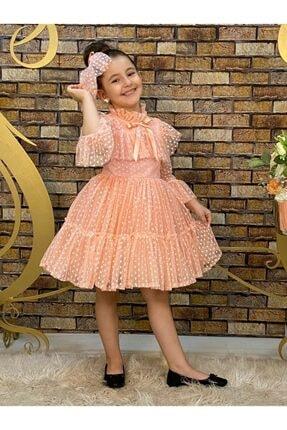 Kız Çocuk Abiye Somon abiye
