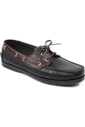 Tarzı  Hakiki Deri Ortopedik Pedli Tabanı Çikolata Kokan Ayakkabı resmi