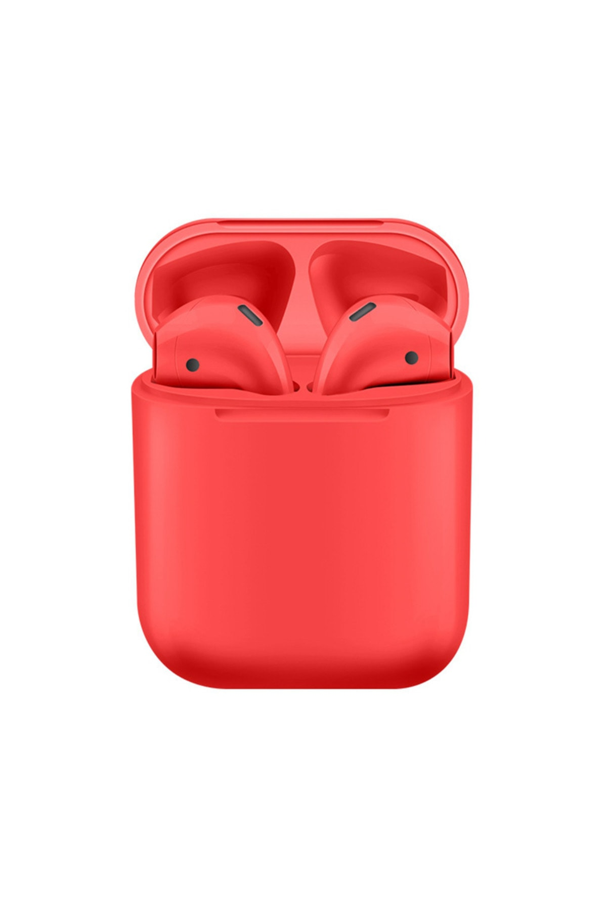 Airpods 2. Nesil i12 Kırmızı Bluetooth Kulaklık Muhteşem Ses Performansı