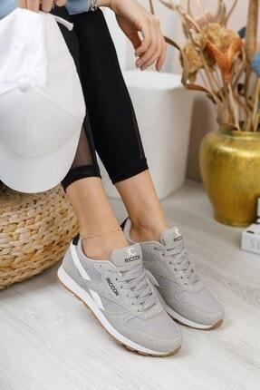 Riccon Gri Beyaz Unisex Sneaker 0012853 2
