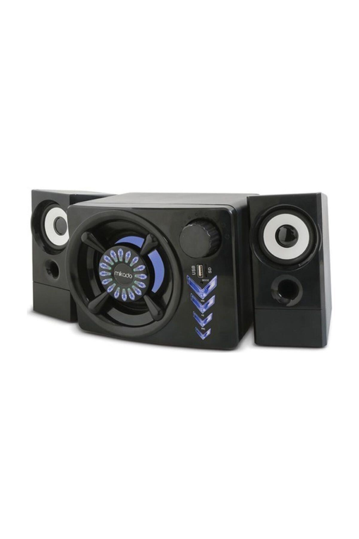 Md-219bt 2+1 10w+3wx2 Siyah Usb + Tf Kart + Bluetooth Speaker