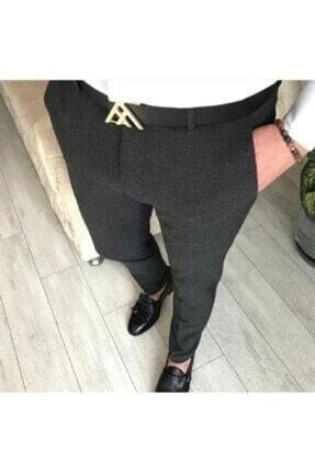 Italyan Kesim Slim Fit Füme Pamuklu Erkek Kumaş Pantolon blg766-98