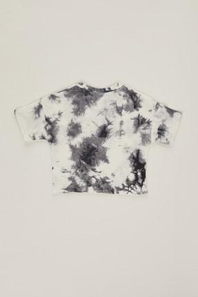 PAULMARK Kız Çocuk Batik Desen T-shirt 1