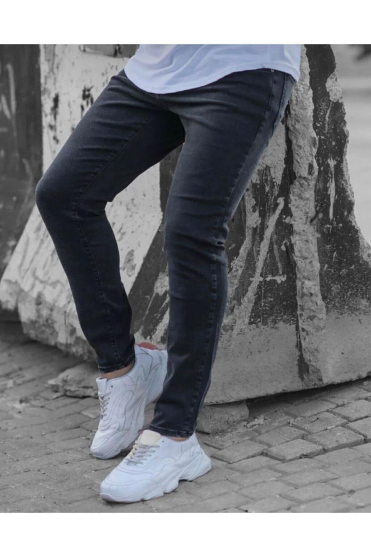 Erkek Jeans Italyan Kesim Kot Pantolon