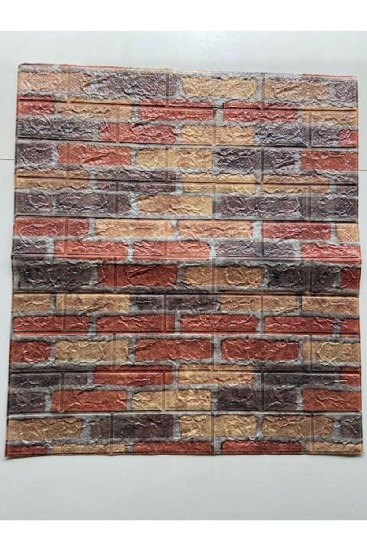 Kendinden Yapışkanlı 70x77cm 10 Adet Taş Duvar Kağıdı Paneli