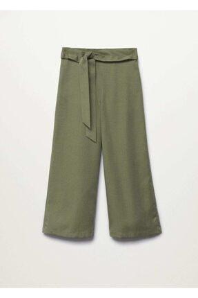 %100 Liyosel Culotte Pantolon resmi