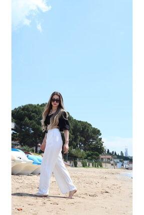 تصویر از Beyaz Pantolon