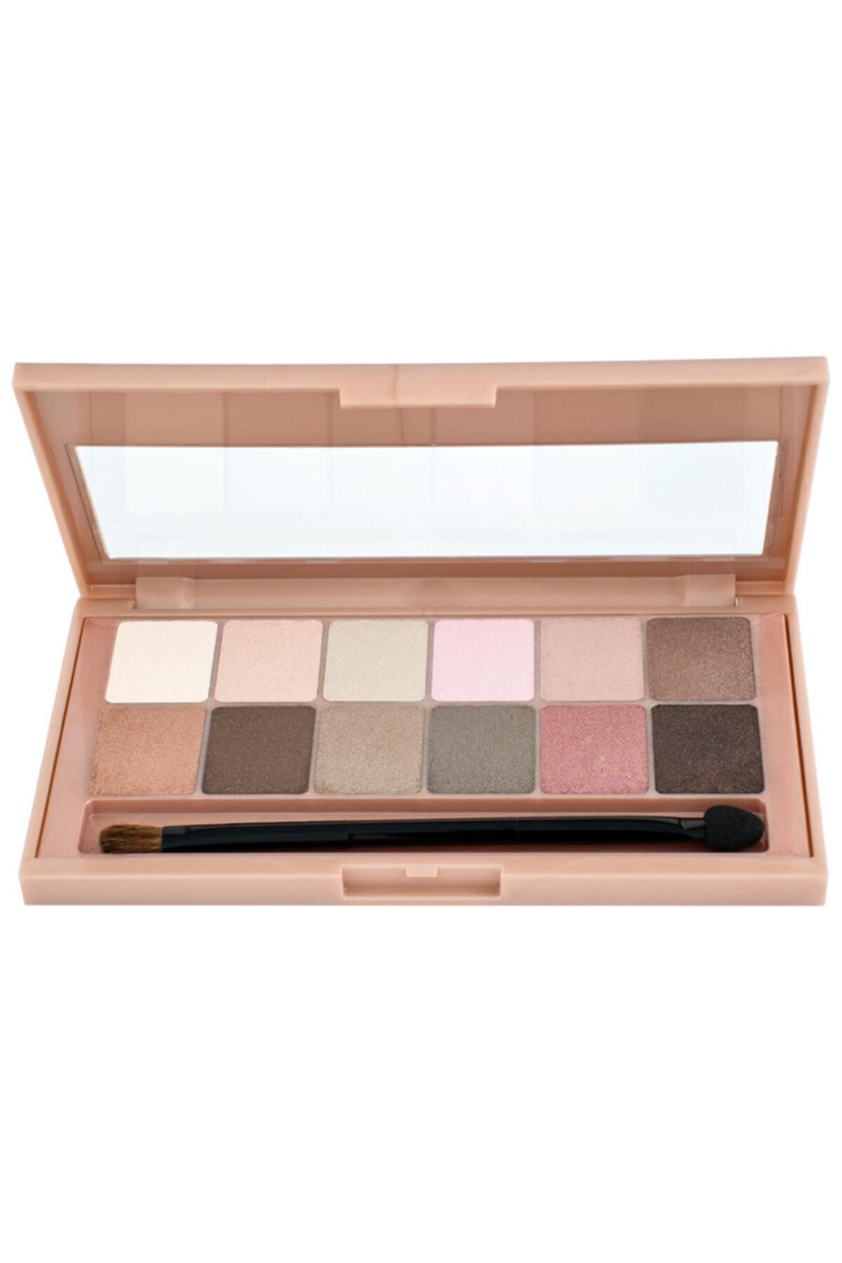Maybellıne The Blushed Nudes Eyeshadow Palette Far Paleti 12 Li
