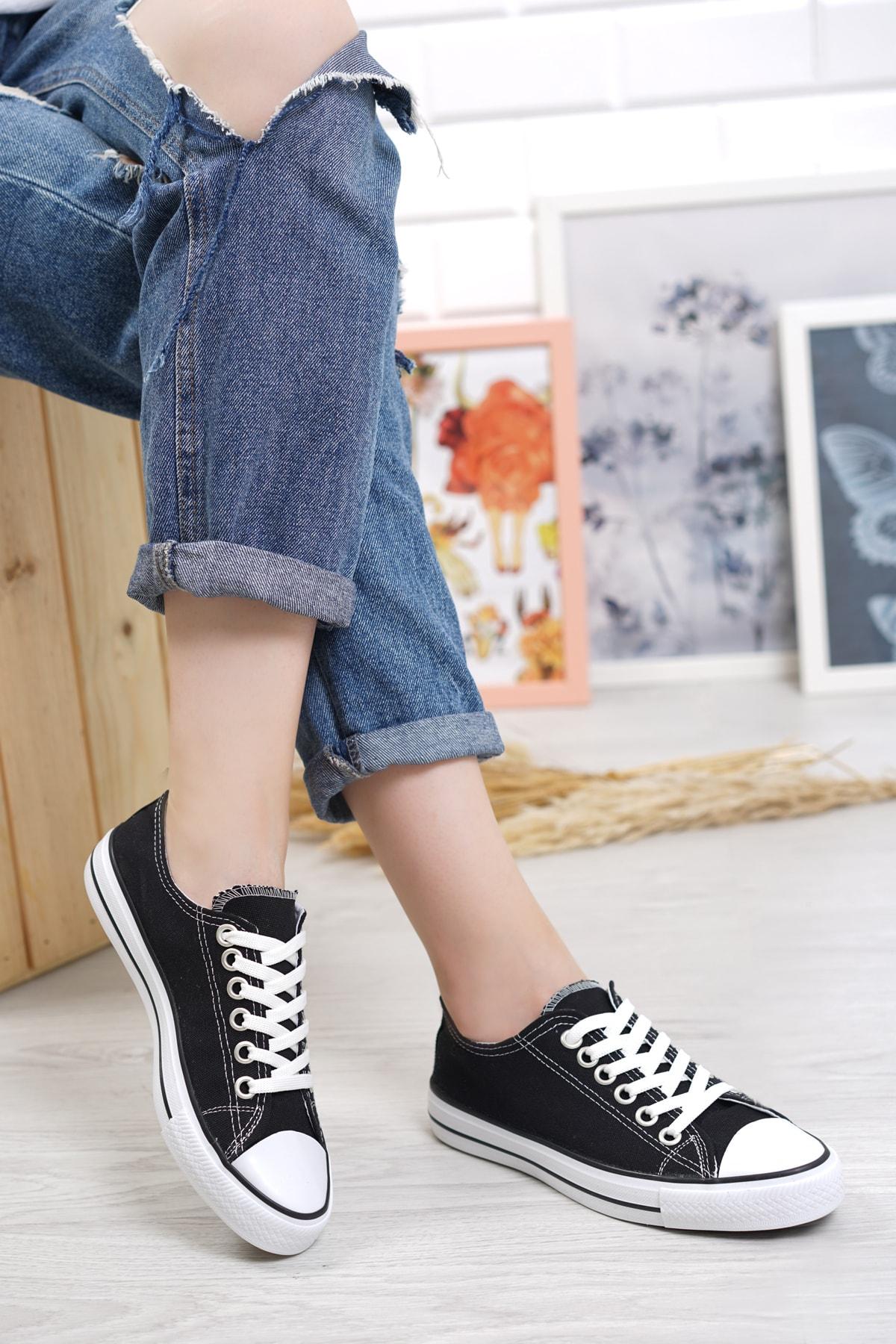 Cnv Ayakkabı Siyah