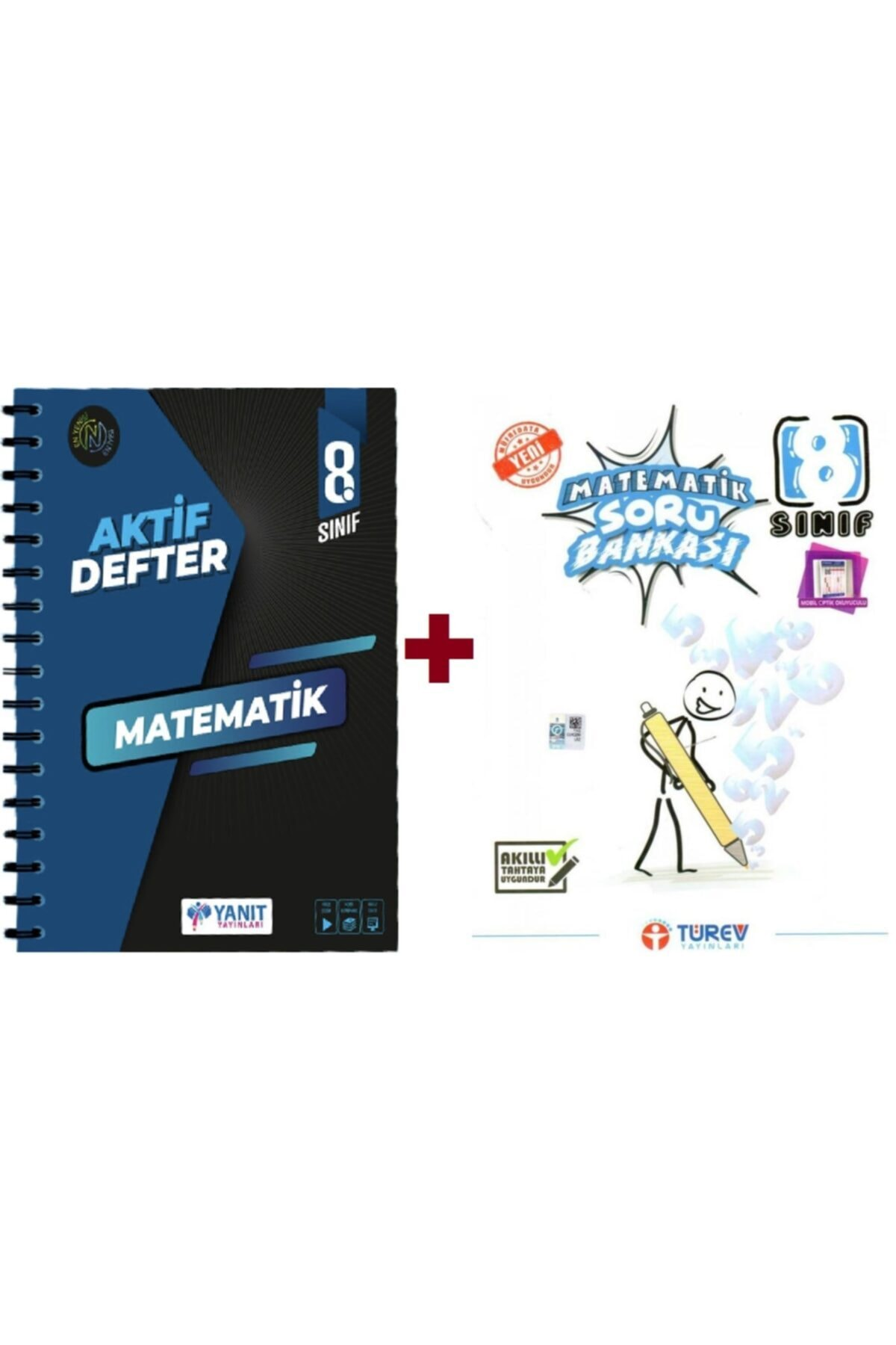 Yanıt 8. Sınıf Matematik Aktif Defter + Matematik Soru Bankası Ilave