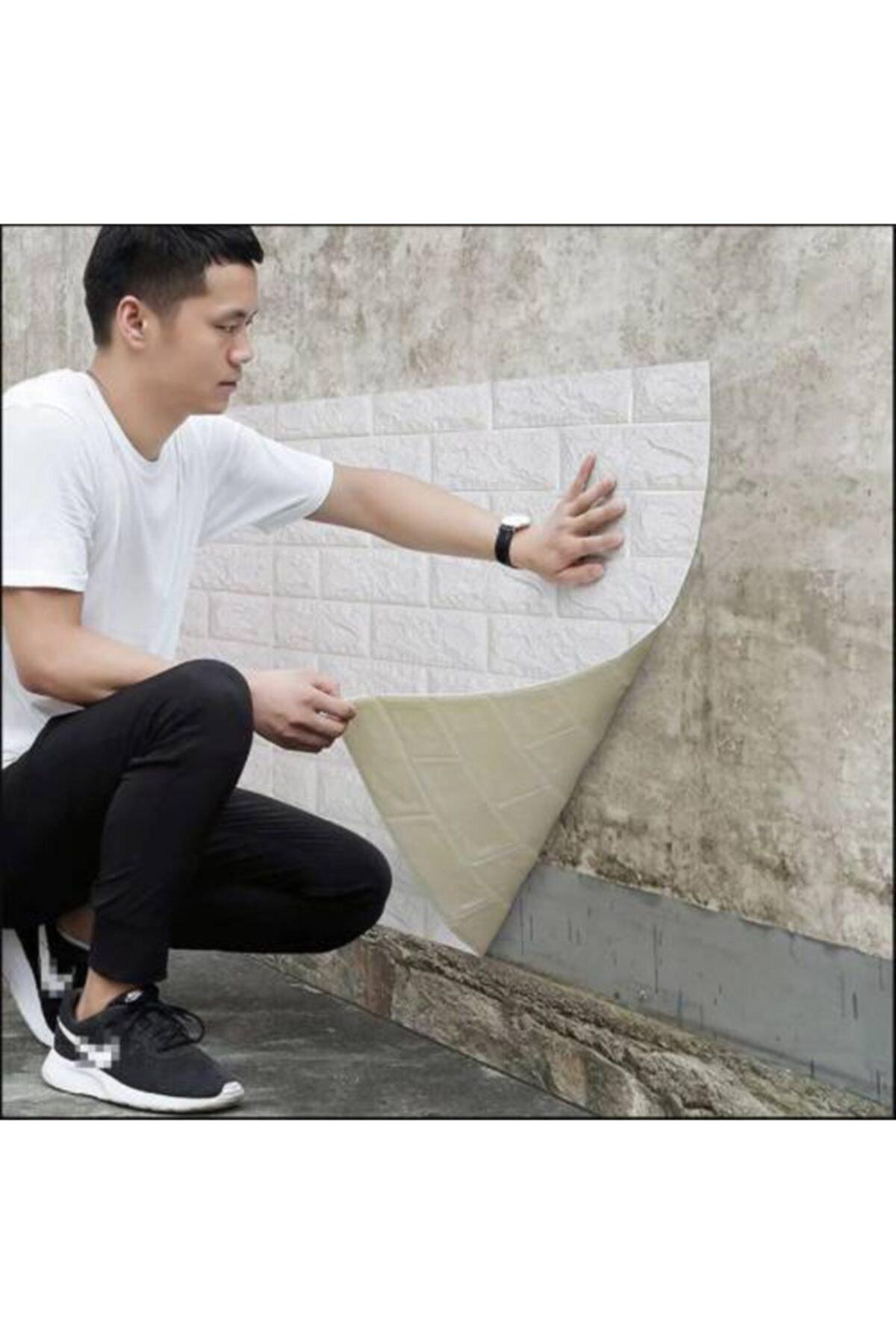 Kendinden Yapışkanlı Duvar Paneli Kağıdı