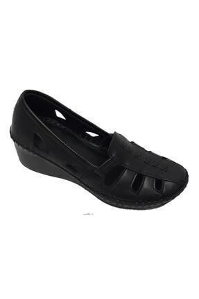 تصویر از 793055 Hakiki Deri Ortopedik Kadın Ayakkabı