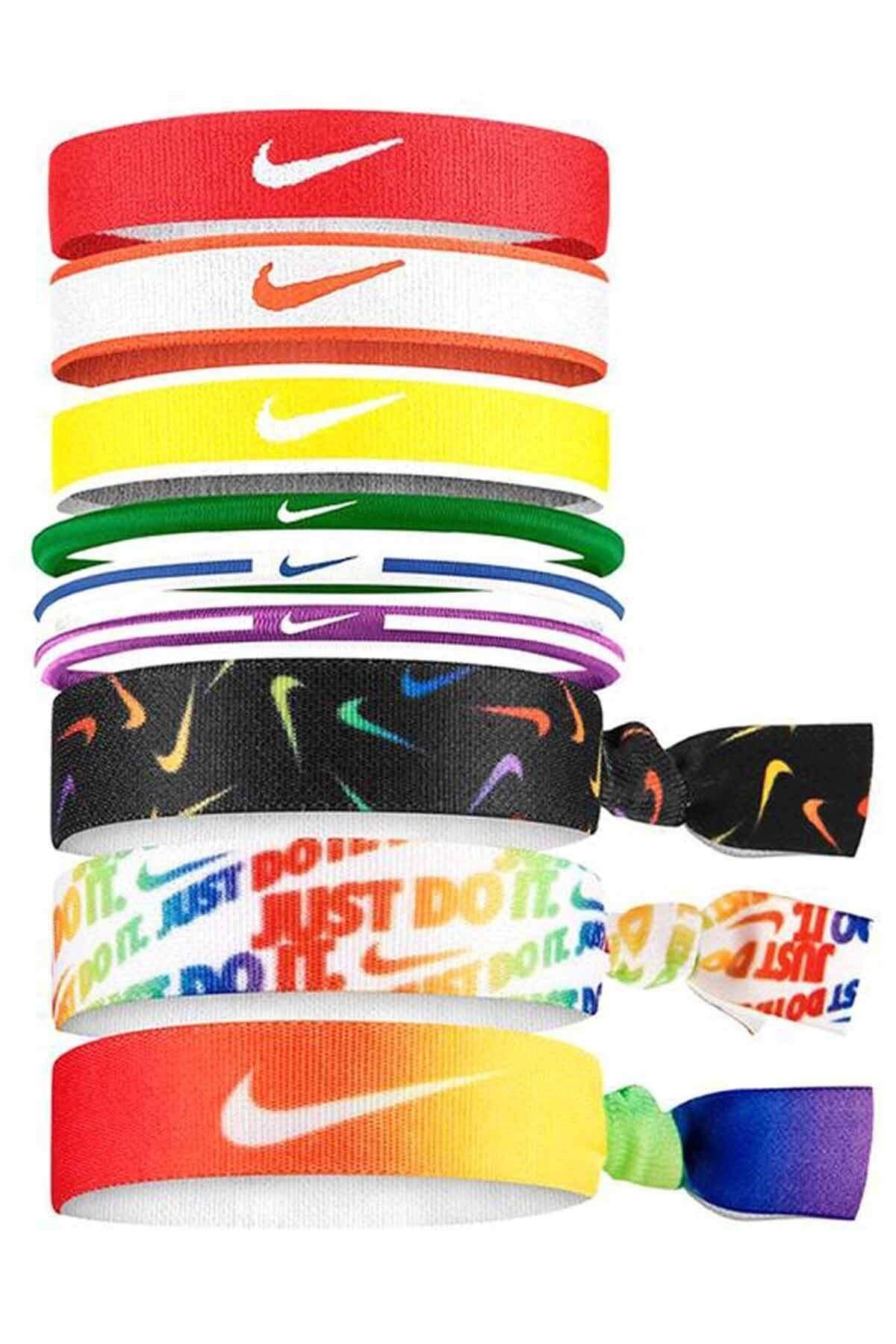 Mixed Hairbands 9 Pk Unisex Saç Bandı N.000.3537.950.os-çok Renkli