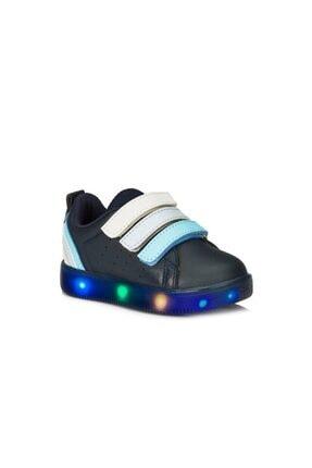 220.21y.212 Sun Ortopedik Erkek Çocuk Işıklı Spor Ayakkabı resmi