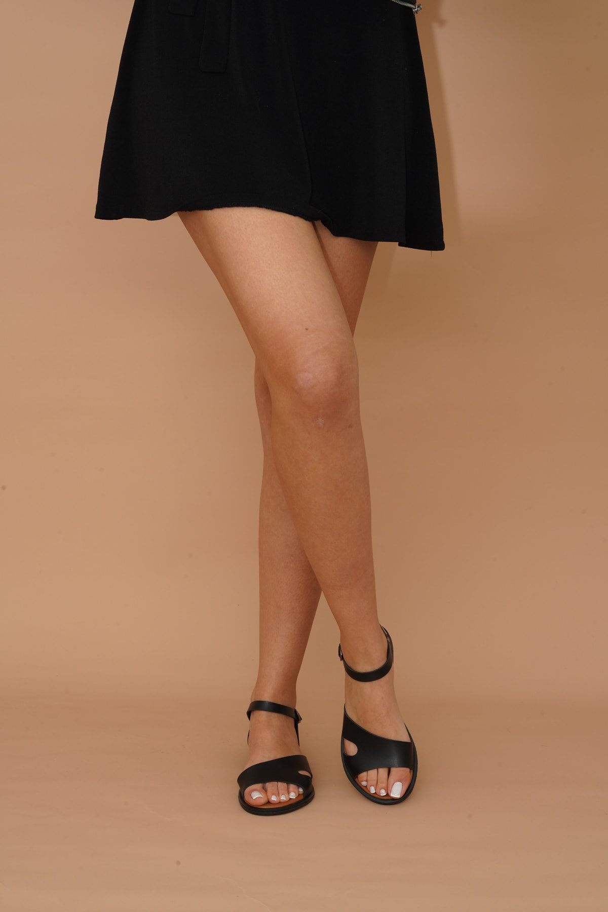 Kadın Siyah Sandalet 009