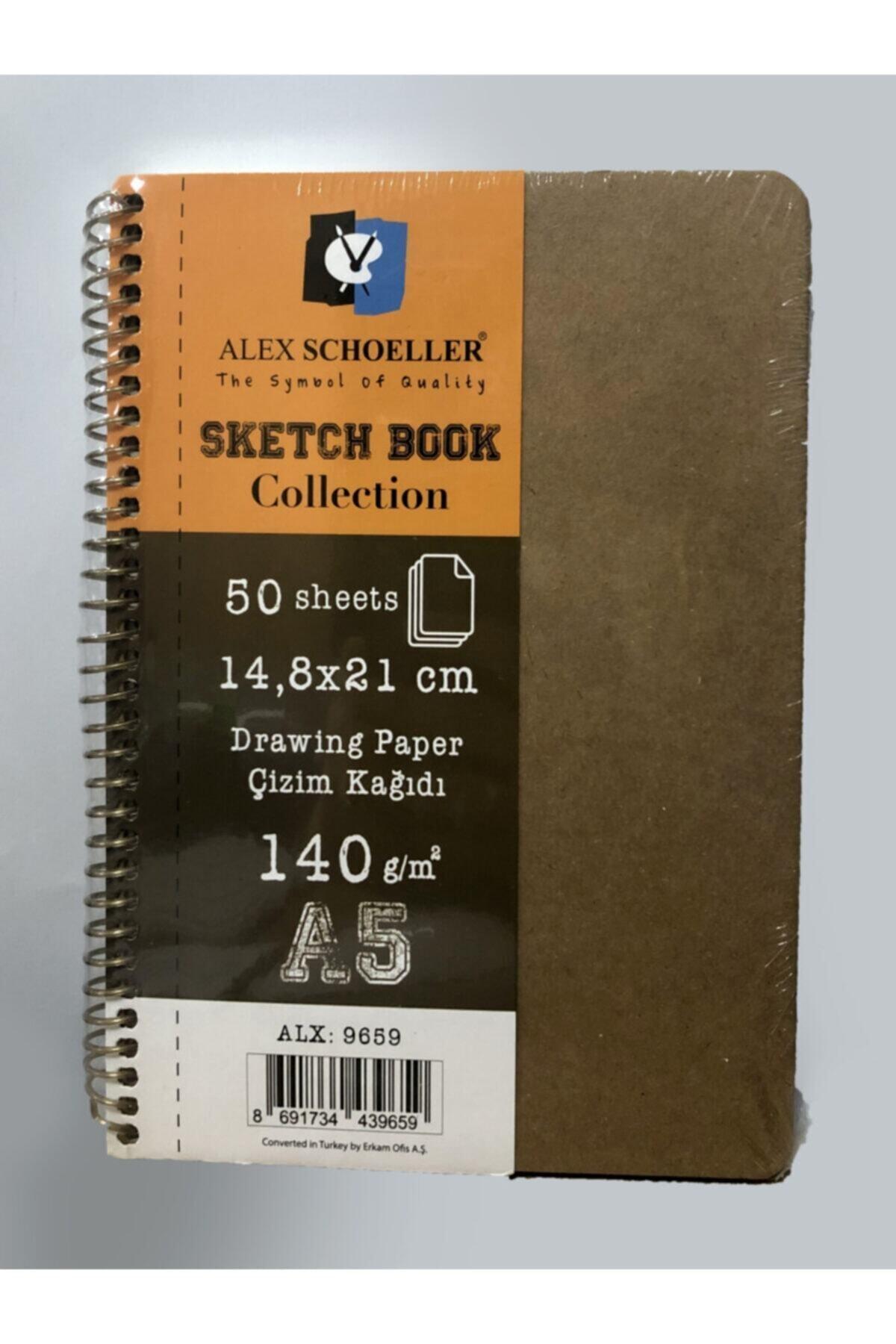 Alex Sketchbook Collectıon A5 140 Gr 50 Yp
