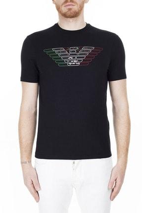 Emporio Armani Regular Fit T Shirt Erkek T Shirt 3H1T71 1J11Z 0999 0