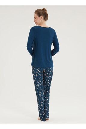 Blackspade Kadın Pijama Takımı 50340 - Mavi 1