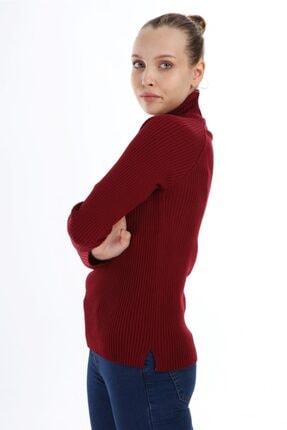 DEMİRLER Kısmetli Kadın Tam Balıkçı Triko Kazak 2
